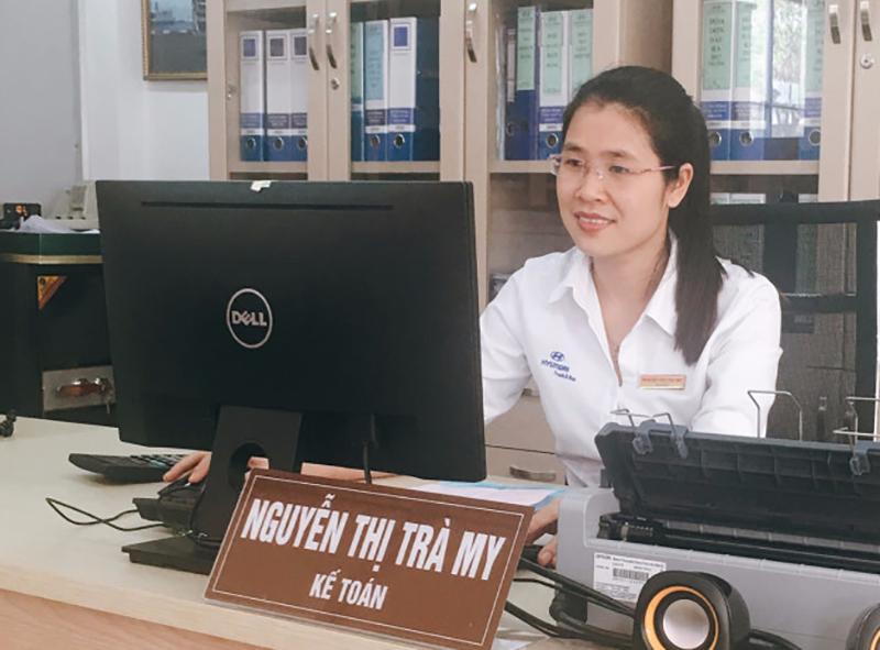 Chị Nguyễn Thị Trà My - Kế toán trưởng - Công ty Cổ phần ôtô Nam Phát