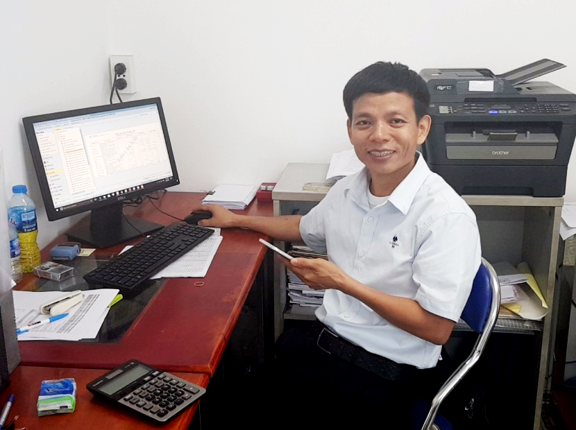 Ông Nguyễn Bá Điểm – GĐ Công ty TNHH Thương mại và Sản xuất Kim Thanh Long