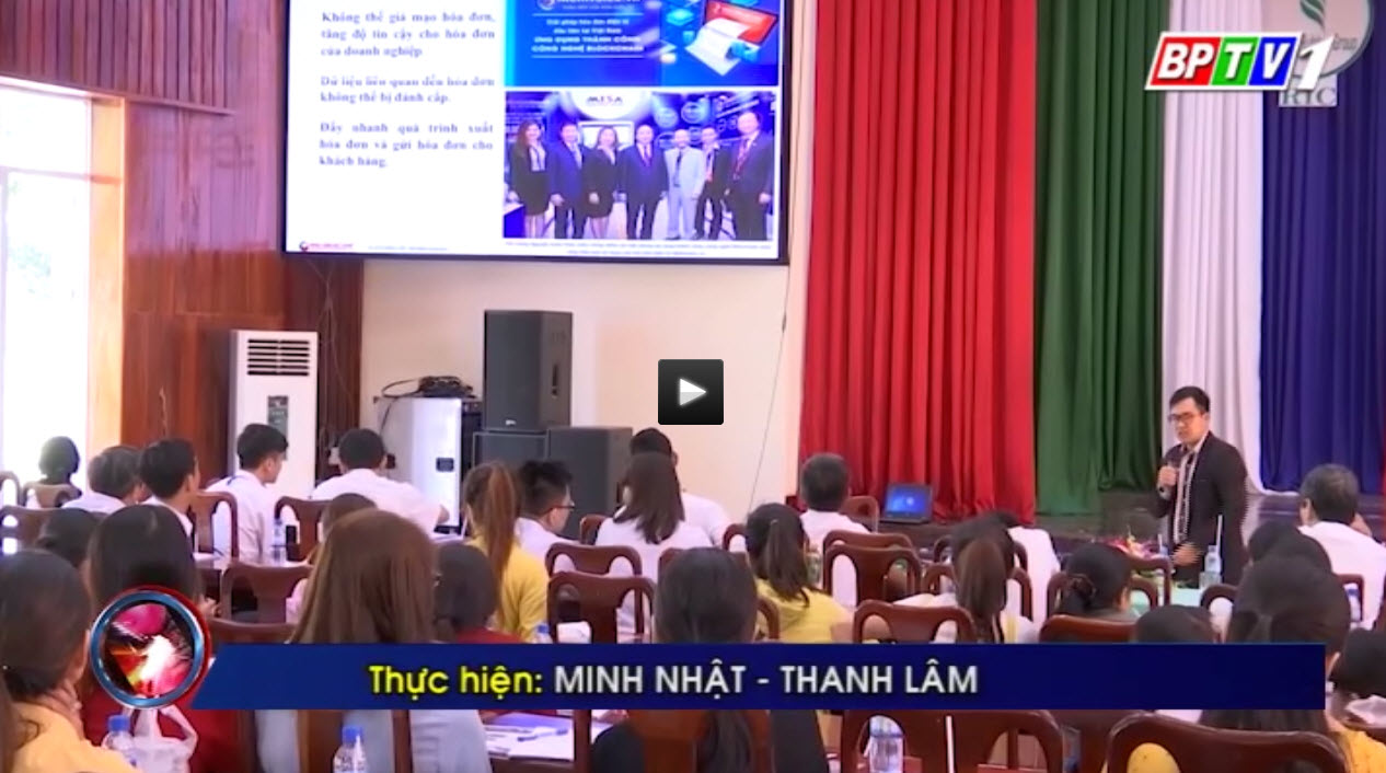 Đài Truyền hình Bình Phước đưa tin về Công Ty Cổ Phần MISA