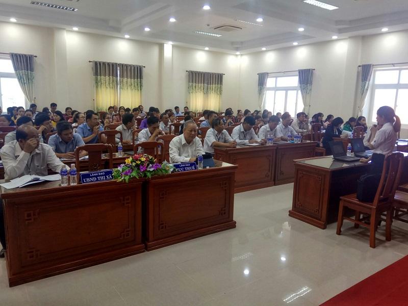 Hội nghị gặp mặt đối thoại Doanh nghiệp Quý 4/2018