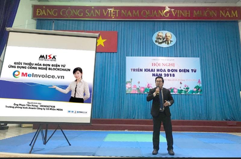 Hội nghị triển khai hóa đơn điện tử năm 2018