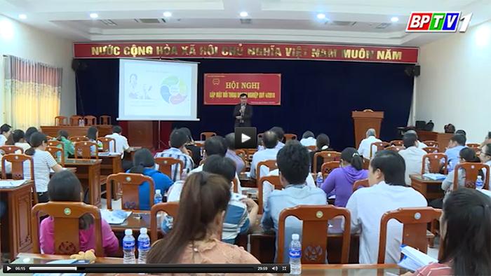 Công ty Cổ Phần MISA được truyền hình Bình Phước đưa tin về Hội Nghị