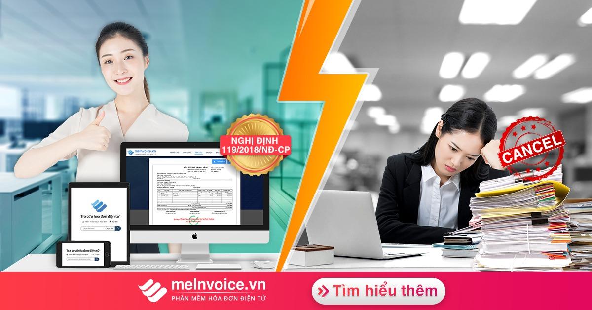 meInvoice.vn – Phần mềm hóa đơn điện tử phổ biến nhất