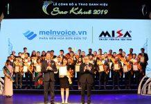 Sao Khuê 2019 cho Phần mềm hóa đơn điện tử meInvoice.vn