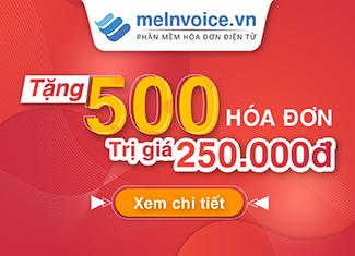 MISA tặng 500 hóa đơn điện tử