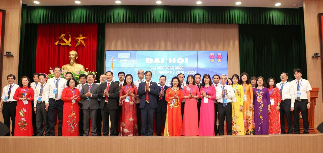 Ban Chấp hành Đại hội VI nhiệm kỳ 2019-2024 Hội kế toán và kiểm toán Việt Nam ra mắt đại hội