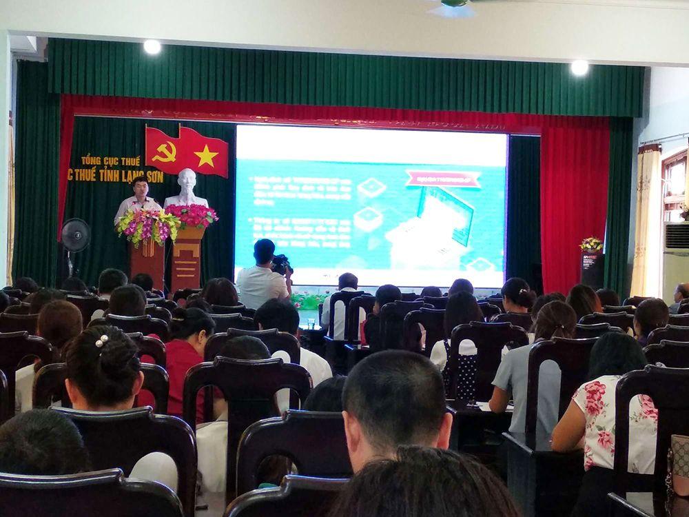 MISA đồng hành cùng Cục Thuế Lạng Sơn tập huấn hóa đơn điện tử