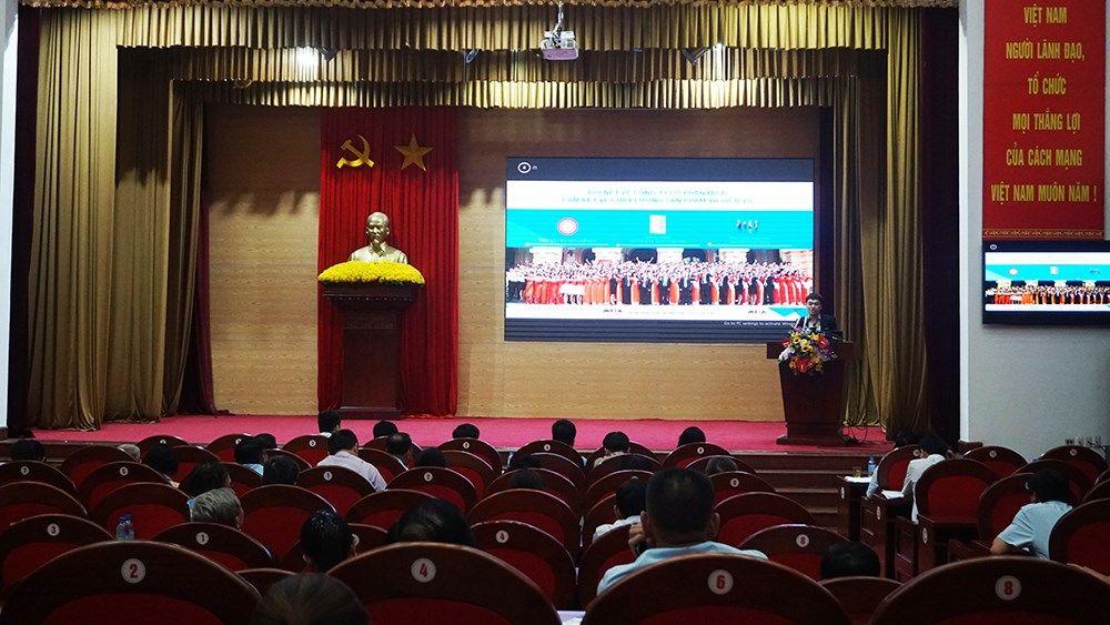 MISA đồng hành cùng Cục Thuế tỉnh Quảng Ninh tập huấn hóa đơn điện tử