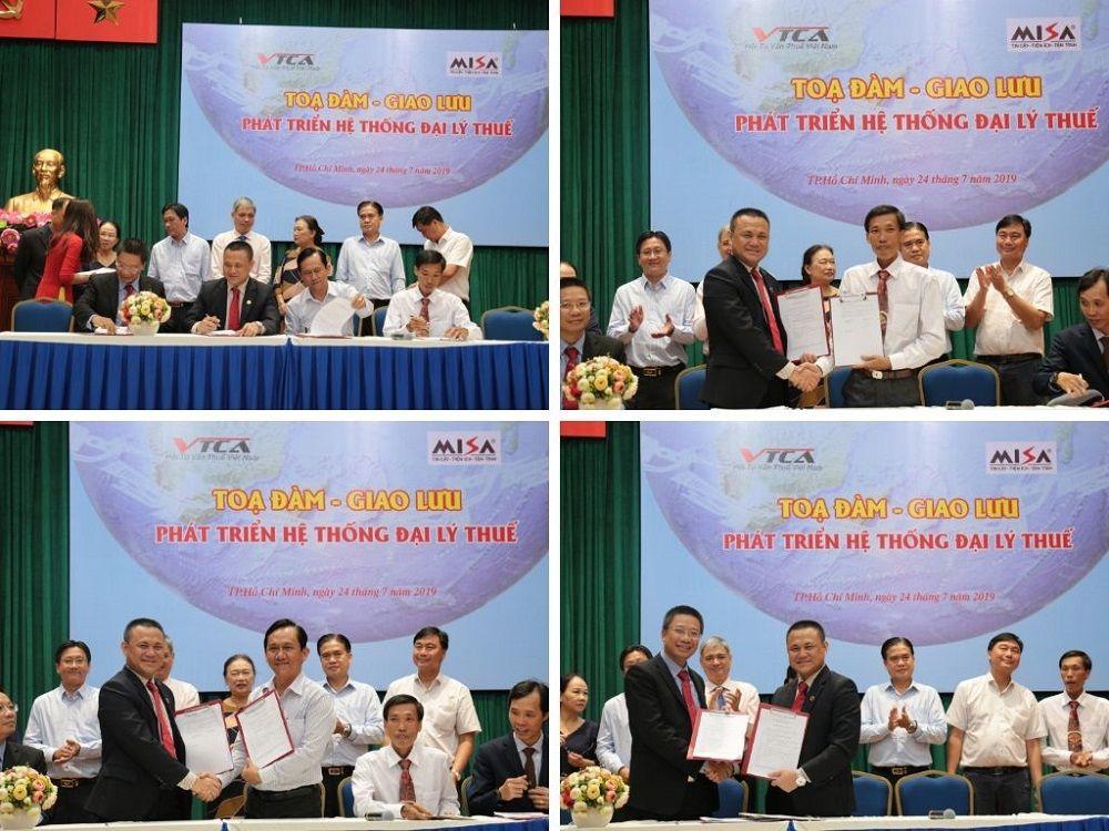 MISA ký kết với 13 Đại lý Thuế phía Nam hỗ trợ phần mềm hóa đơn điện tử