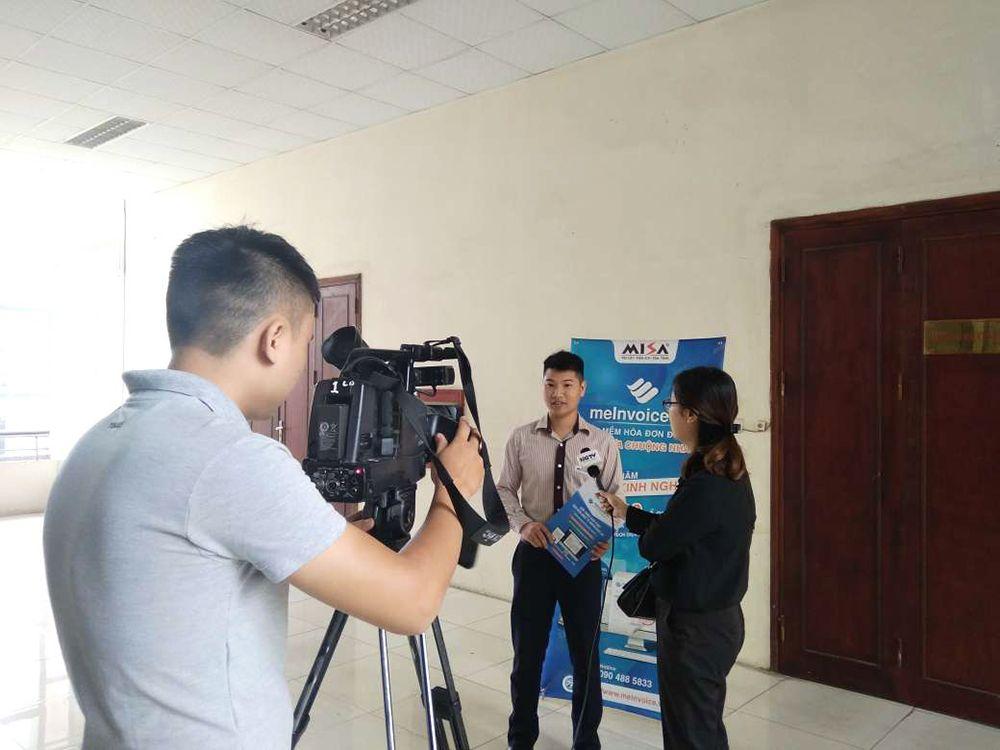 Đài truyền hình Hà Giang phỏng vấn Ông Hoàng Văn Thi về giải pháp hóa đơn điện tử của MISA