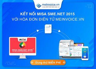 Kết nối hóa đơn điện tử với phần mềm kế toán