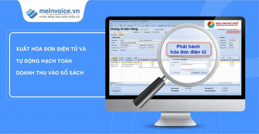 Thuận lợi khi tích hợp hóa đơn điện tử vào phần mềm kế toán MISA