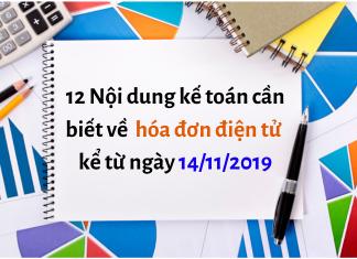 Thông tư 68/2019/TT-BTC về hóa đơn điện tử