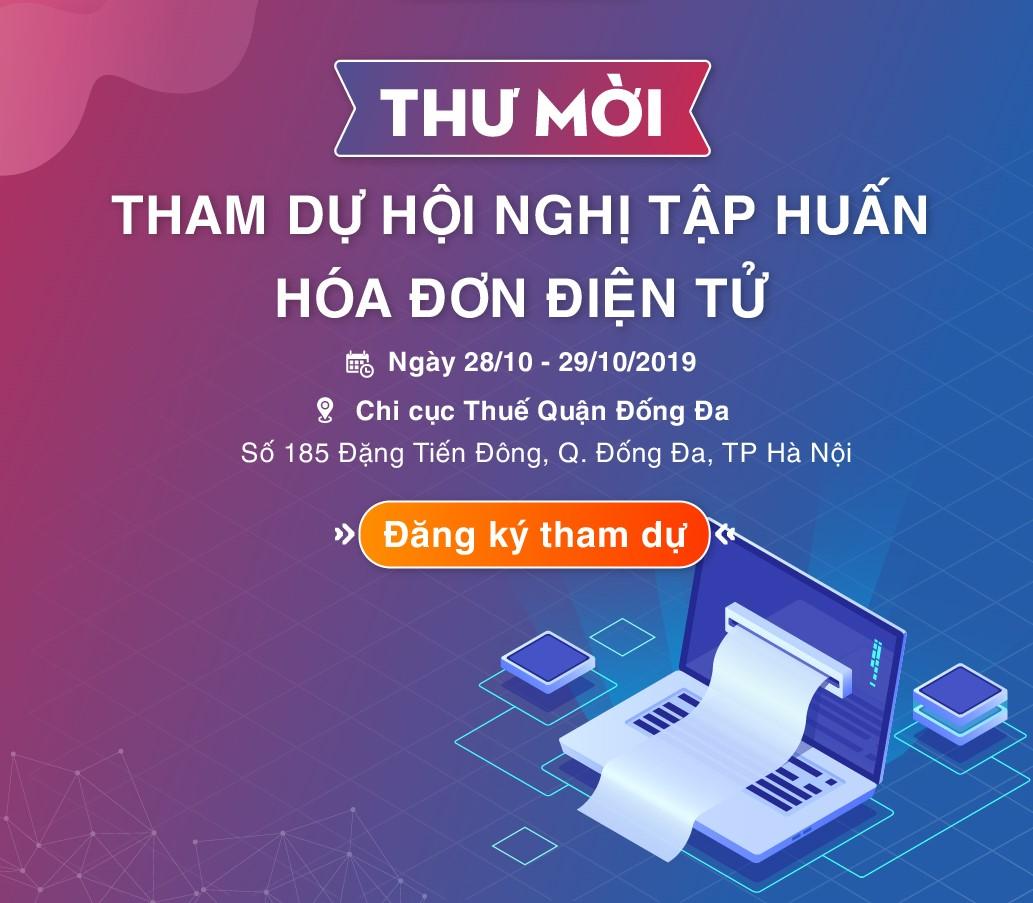 Hội thảo tập huấn hóa đơn điện tử tại Hà Nội