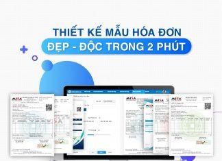 Thiết kế mẫu hóa đơn điện tử