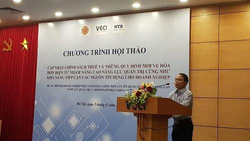 Hội thảo quy định mới về hóa đơn điện tử