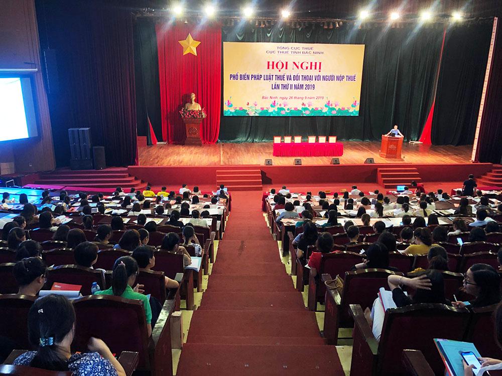 MISA đồng hành Cục Thuế Bắc Ninh tập huấn hóa đơn điện tử