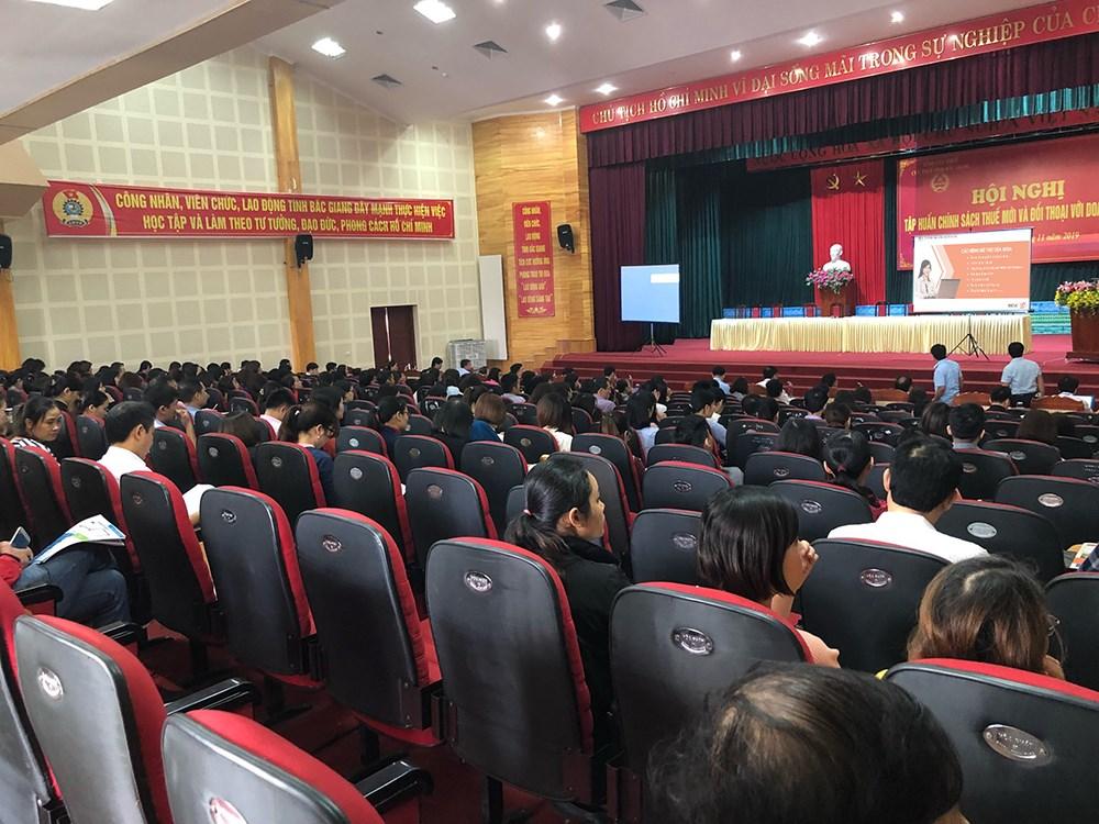 MISA đồng hành Cục Thuế Bắc Giang tập huấn hóa đơn điện tử