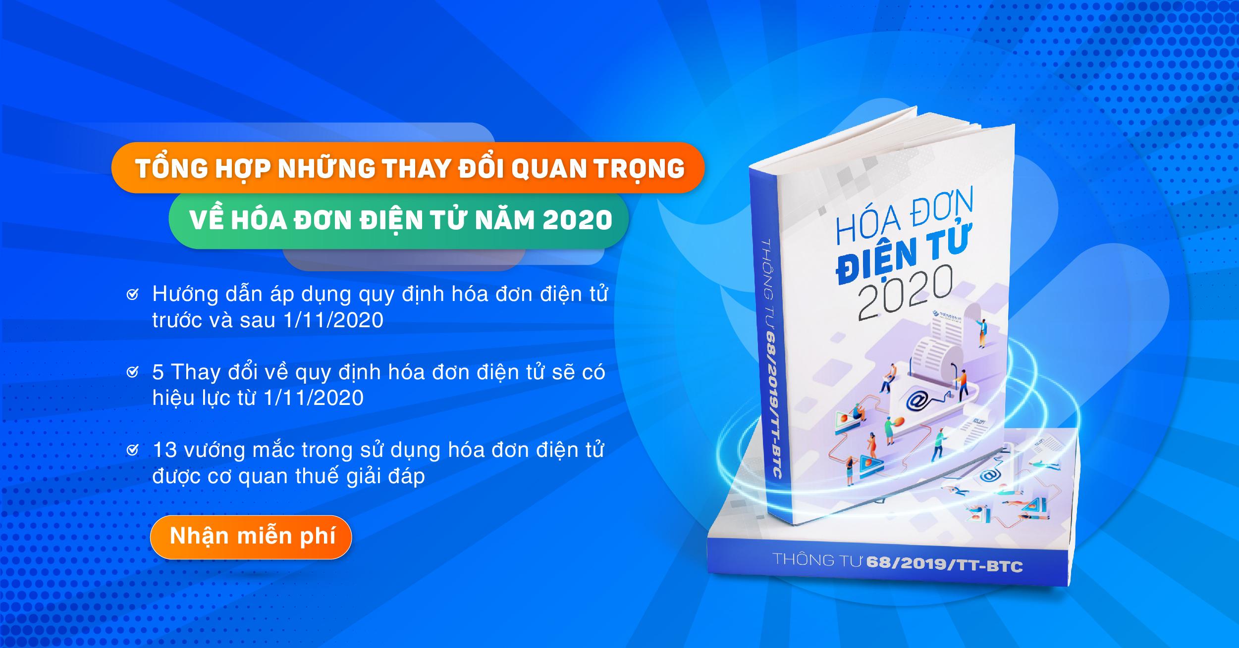 Tài liệu hóa đơn điện tử 2020