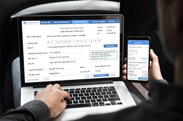 phần mềm hóa đơn điện tử MISA meInvoice