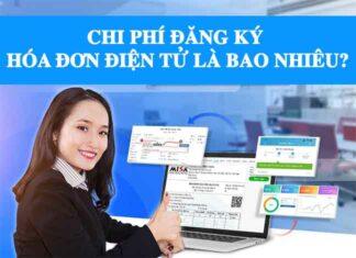 chi phi dang ky hoa don dien tu